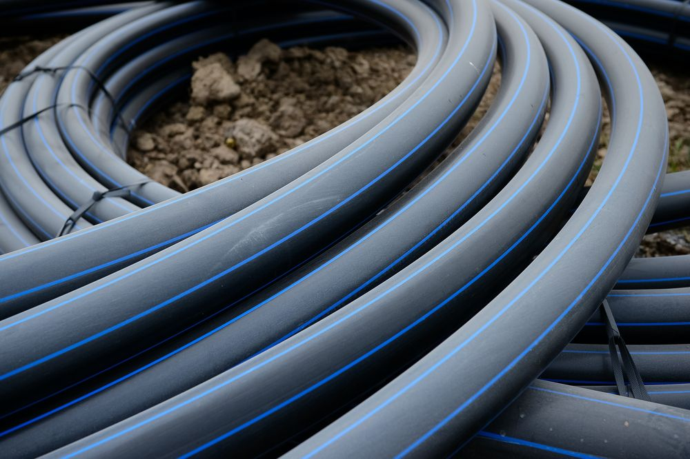 HDPE piping in British Columbia